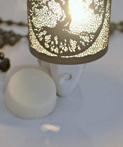 Enchanted Tree Plug In Melt Warmer White and Black