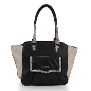 Thea Pocket Tote Grey