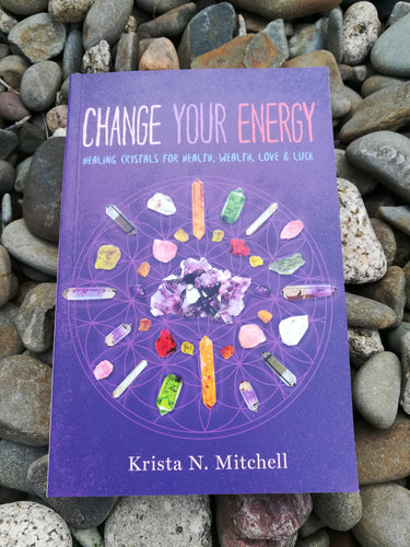 Change your energy, Healing crystals for health, wealth love & luck
