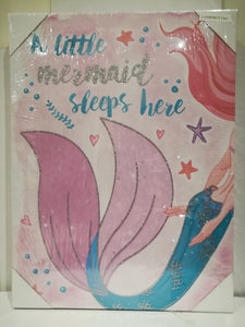 Little Mermaid Canvas Prints