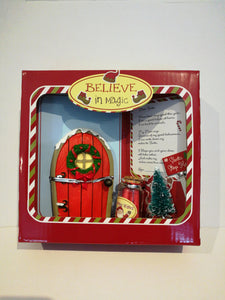 Santa Door Wish Kit Red