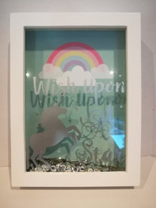Unicorn Rainbow Wish Box