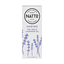 Load image into Gallery viewer, Natto. Unwind Lavender & Tea Tree Oil
