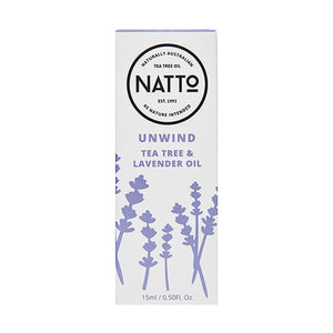 Natto. Unwind Lavender & Tea Tree Oil