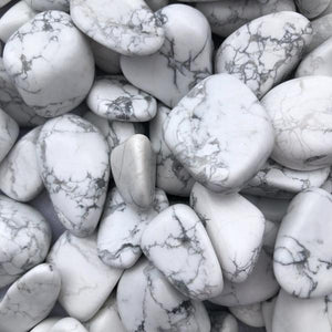 White Howlite Tumble