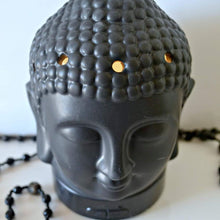 Load image into Gallery viewer, Aromatherapy Ultrasonic Buddha Head Diffuser Black - Mist Diffuser