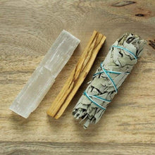 Load image into Gallery viewer, Cleansing Rituals Pack - Sage & Smudge sticks