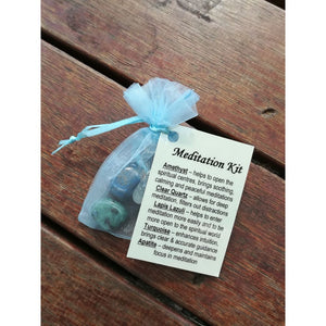 Crystal Healing Kit Meditation - Crystal Healing Kit