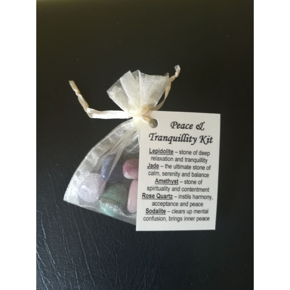 Crystal Healing Kit - Peace & Tranquillity - Crystal Healing Kit