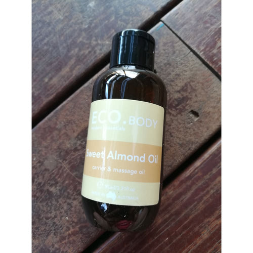 Eco. Sweet Almond Carrier Oil 95 Ml.