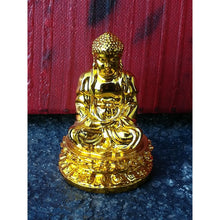 Load image into Gallery viewer, Meditation Buddha 60 Mm Shiny Gold - Statue