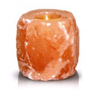 Natural Shaped Himalayan Salt Tea Light Candle Holder