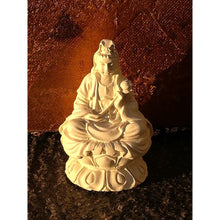 Load image into Gallery viewer, Quan Yin Statue Ivory - Statue