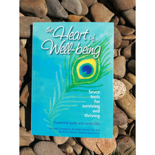 Load image into Gallery viewer, The Heart Of Well-Being; Seven Tools For Surviving & Thriving (Guide With 2 Audio Cds) - Book & Cd Sets