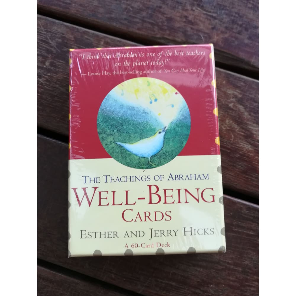 Well-being cards: Teaching of Abraham - tarot & affirmation cards