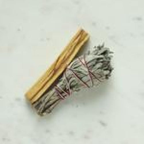White Sage & Palo Santo Smudge Pack - Sage & Smudge sticks