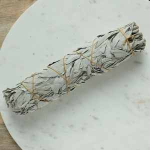White Sage Smudge Stick Large - Sage & Smudge sticks