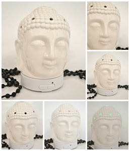Diffuser Buddha Head Black and White