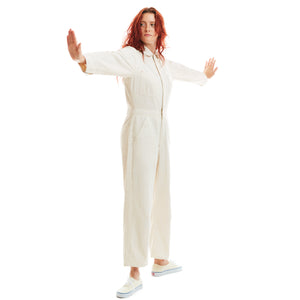 Lincoln natural unisex jumpsuit