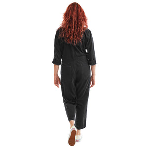Black Unisex Jumpsuit