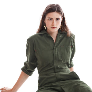 Lincoln jumpsuit in olive