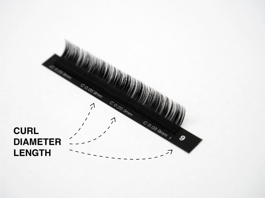 0.05 Nior Mink Collection | Lash Extension Trays