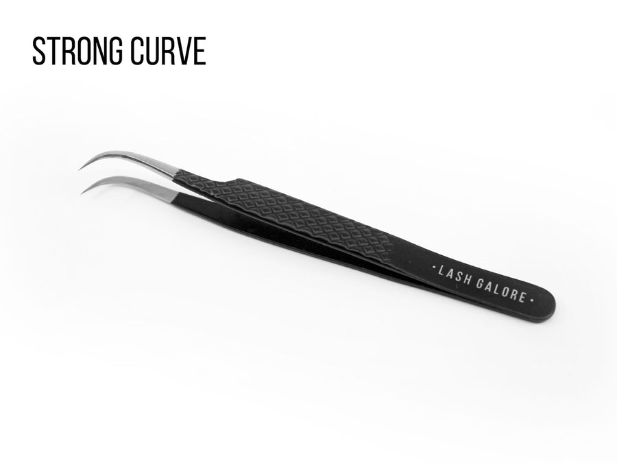 Black Series | Precision Eyelash Extension Tweezer