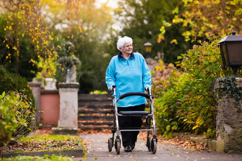 Mobility aids for the elderly to improve daily living