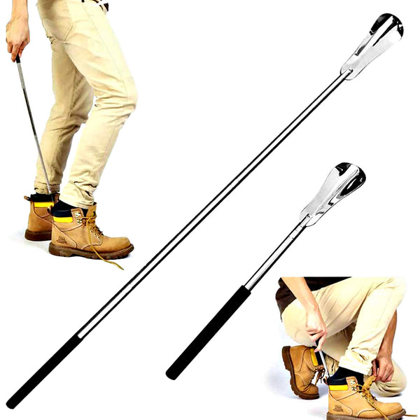 Fanwer Extendable Stainless Steel Shoe Horn