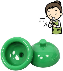 Soft Silicone Palm Sputum Cup(Green)