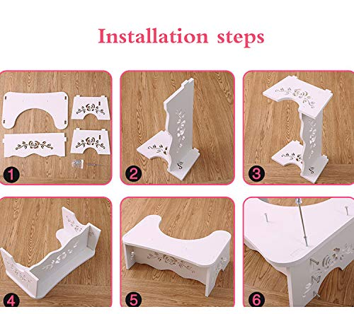 Wood-Plastic Board Toilet Assistance Step