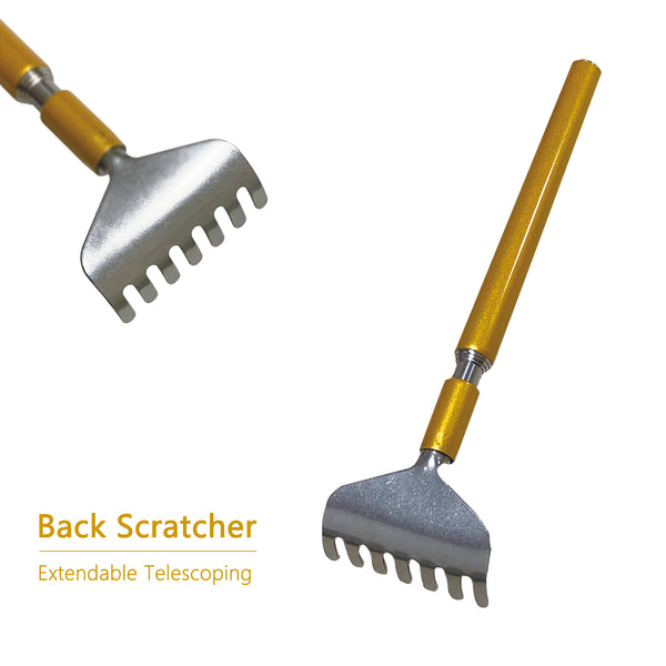 Extendable Back Scratcher with Build-in Earpick