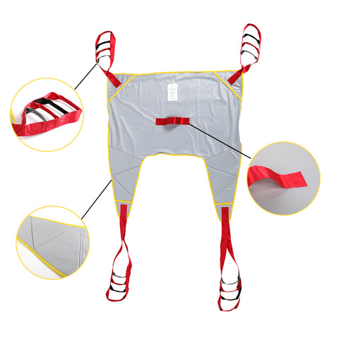 Fanwer Patient lift sling with wide opening