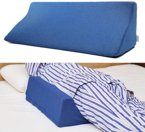 Fanwer Bed Wedge Pillow for Sleeping Body Position
