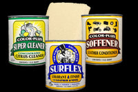 SUPER Cleaner, SOFFENER, and SURFLEX Custom Recolor Kit