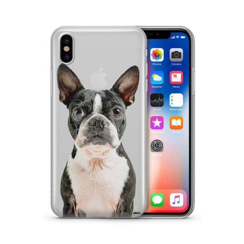 Boston Terrier - Clear Case Cover - Other 10-100 animals carthook_checkout carthook_upsell clear-phone-cases