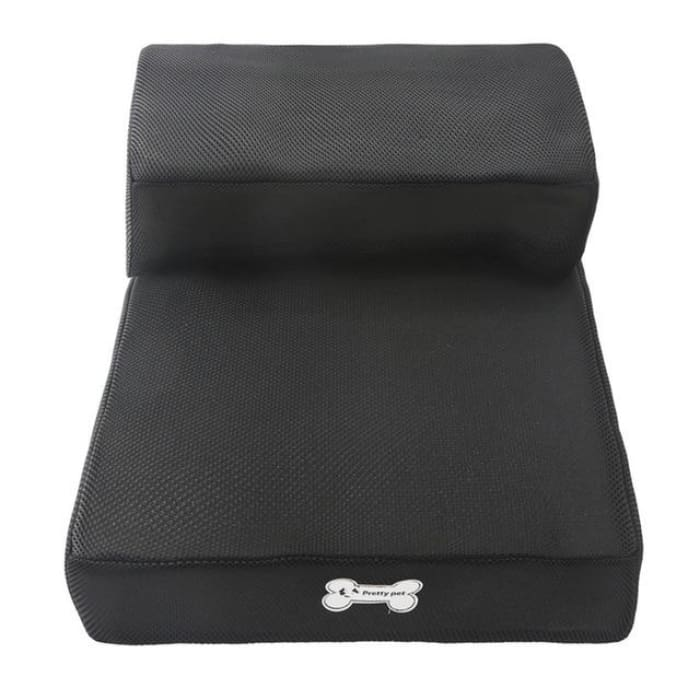 Dog Bed Cushion Mat Folding - Black / One Size