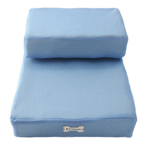 Dog Bed Cushion Mat Folding - Blue / One Size