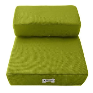 Dog Bed Cushion Mat Folding - Green / One Size