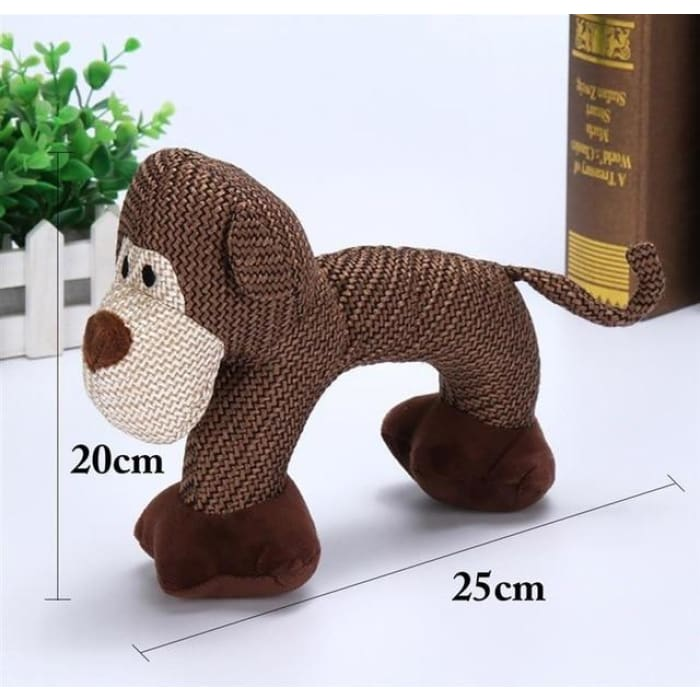 Dog Chew Toys for Small Large Dogs - Monkey / M
