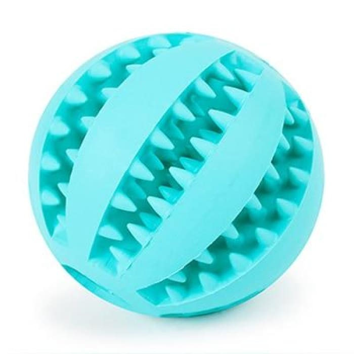 HELLOMOON Dog Toy Interactive Rubber Balls - Blue / 5cm