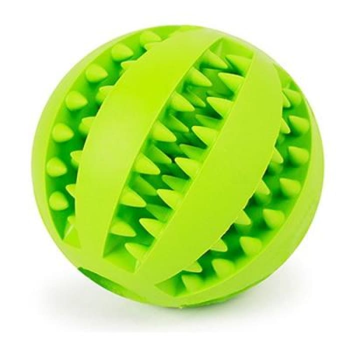 HELLOMOON Dog Toy Interactive Rubber Balls - Light Green / 5cm