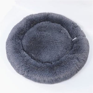 Macaron Round Dog Bed - DeepGray / S
