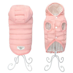 Pet Chihuahua Pug Dog Clothe - Pink / L