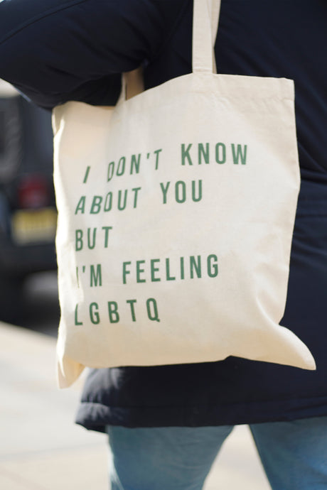 Feeling LGBTQ Tote Bag