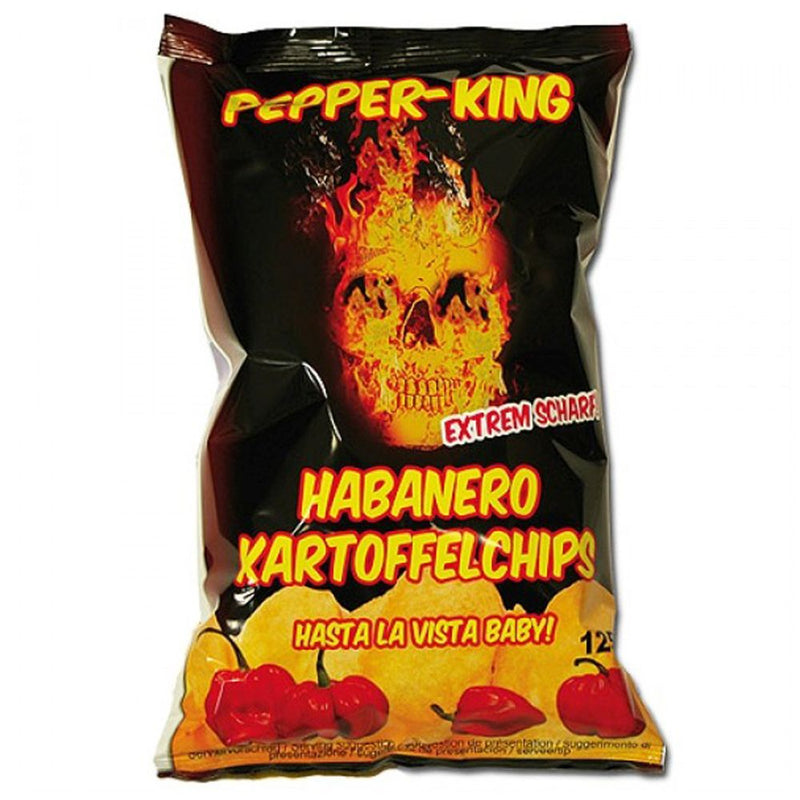 Pepper-King Habanero-Kartoffelchips