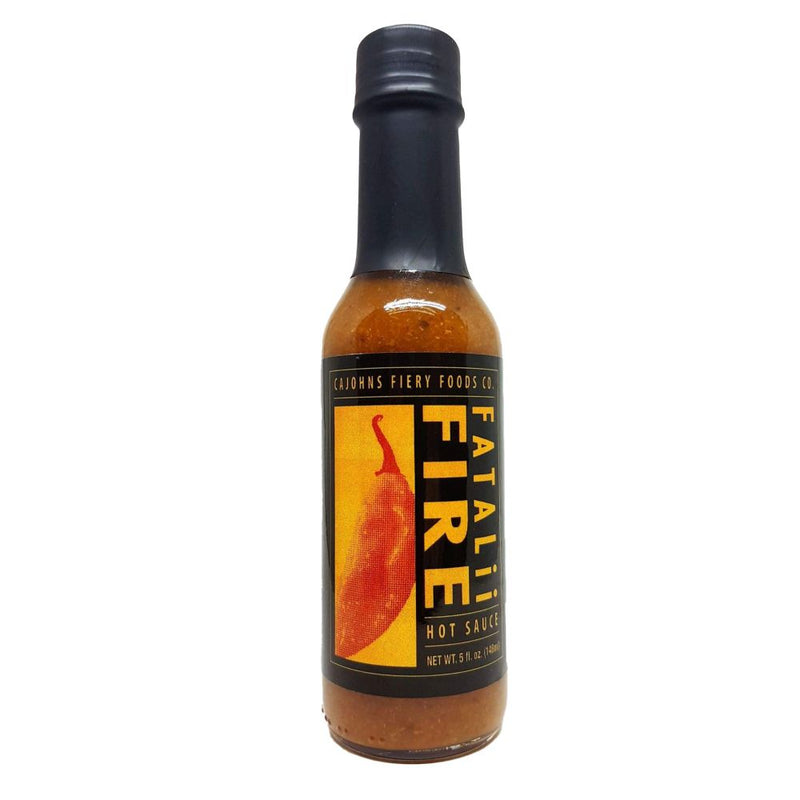 CaJohns Fatalii Fire African Hot Sauce