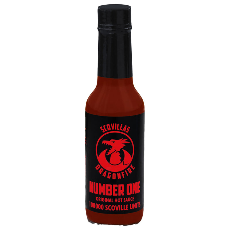 Scovilla Dragonfire Number One Hot Sauce