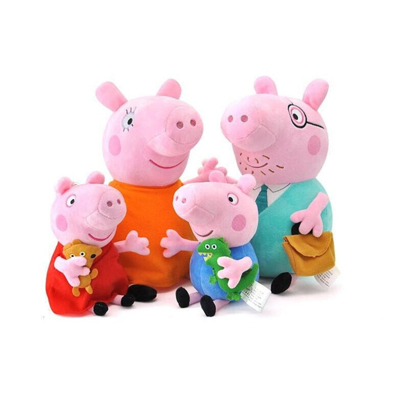 Peppa Pig Family Stuffies