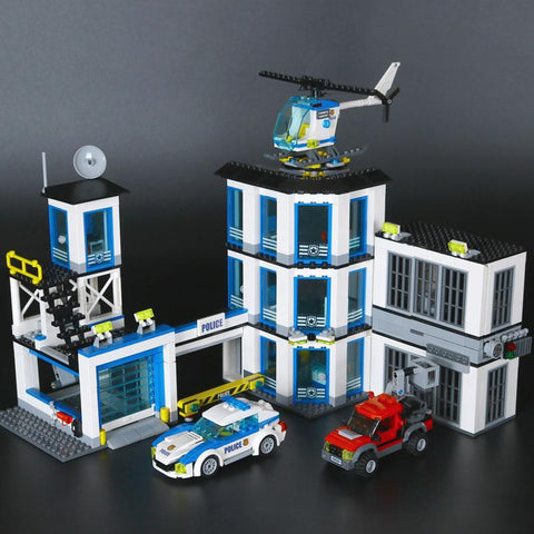 Lepin The Police Station Set